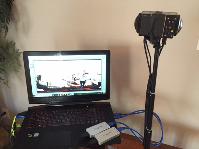 360 Video live streaming system