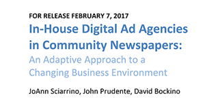 In-House Digital Ad Agencies in Community Newspapers