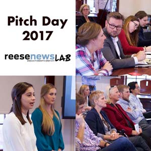 Pitch Day 2017 at UNC School of Media and Journalism