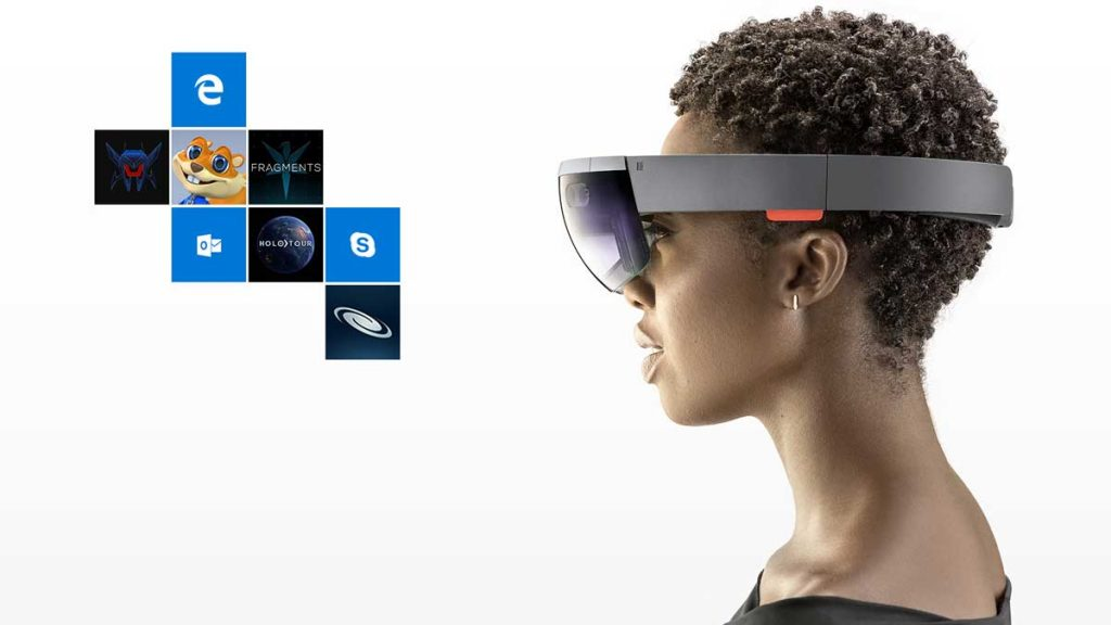 Microsoft HoloLens glasses image